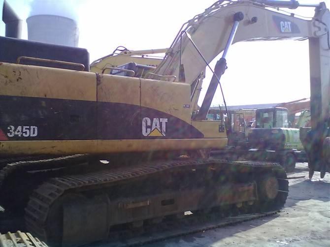 used CAT345D excavator