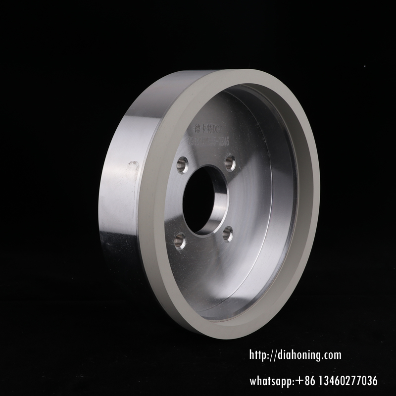 Ceramic bond Diamond grinding wheels for PCD inserts.