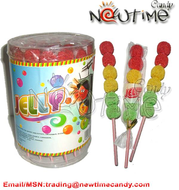 traffic light jelly lollipop