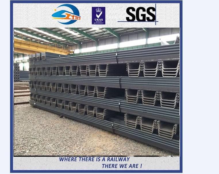 ZhongYue Track Railway Heavy Steel Crane Rail Standard UIC60 12 - 25m