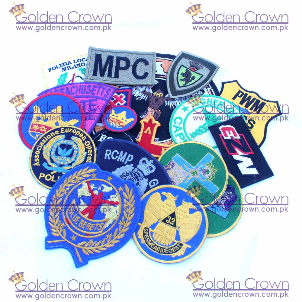 Machine Embroidery Badge Supplier