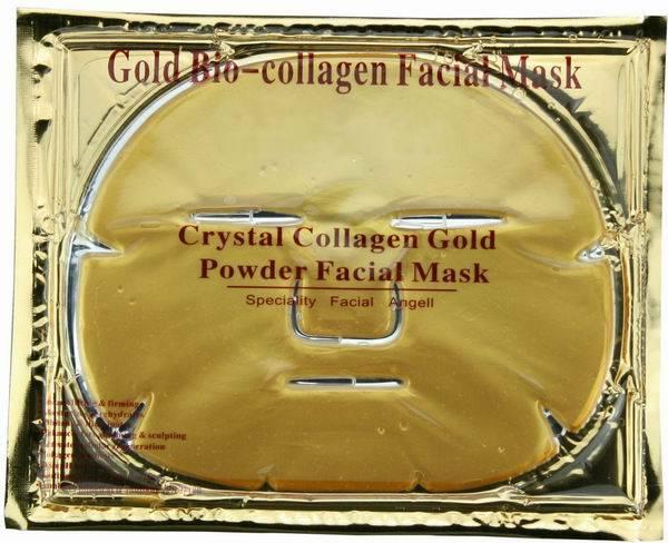 Best Seller 24K anti wrinkle collagen crystal gold face mask/facial mask ( HOT! )