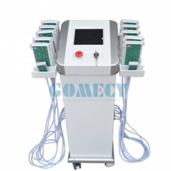 2016 hot sale 650nm&940nm dual wavelengths lipo laser slimming machine with fda approved