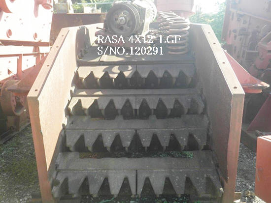 "USED ""RASA"" 1200MM X 3600MM (4X12-LGF) VIBRATING GRIZZLY FEEDER S/NO. 120291"