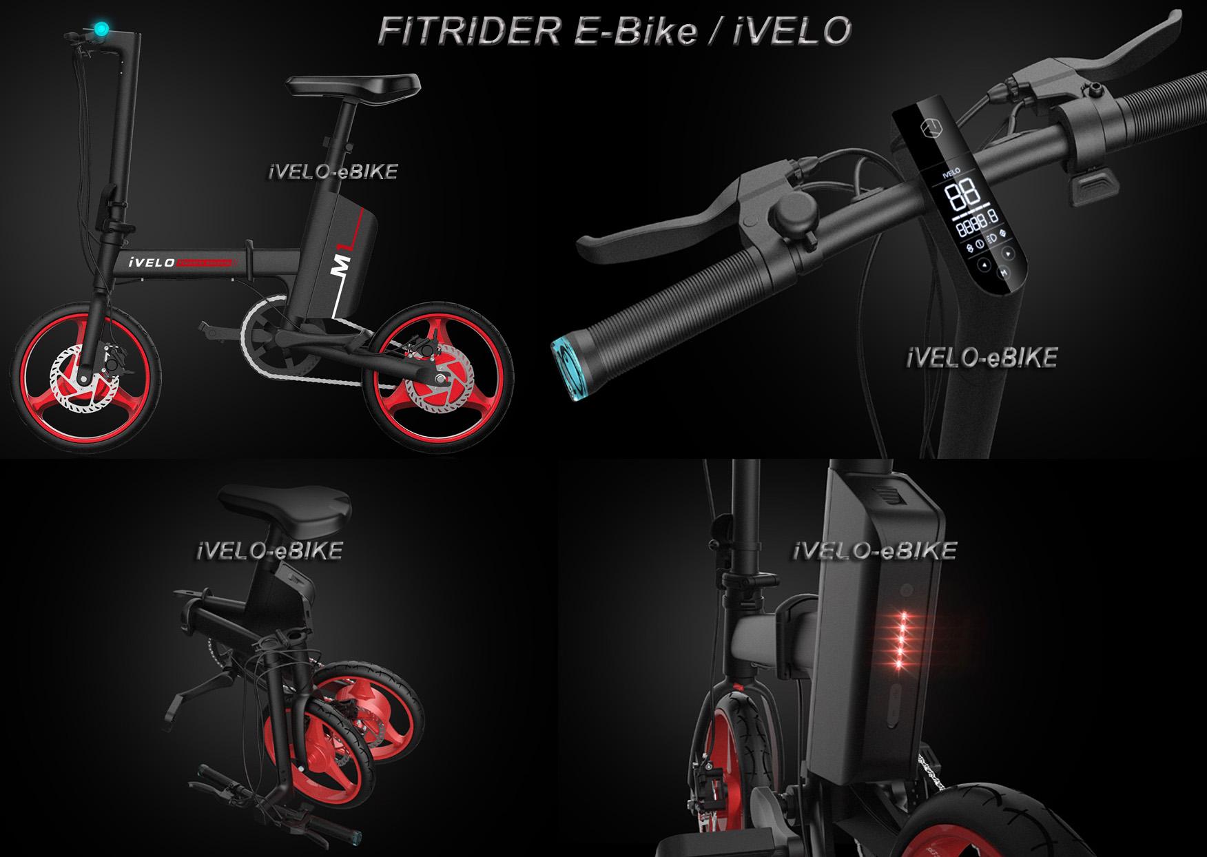 14inch foldable electric bike ivelo m1 bike