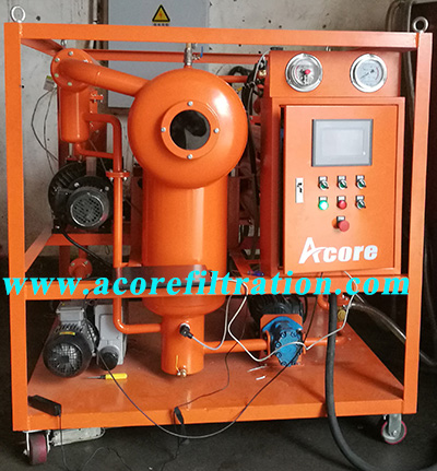 Double Stages Vacuum Transformer Oil Purifier Machine