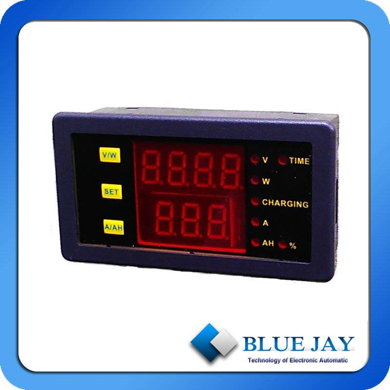 0-10A Battery Analyer  Measuring Amp-Hours and Runing Hours