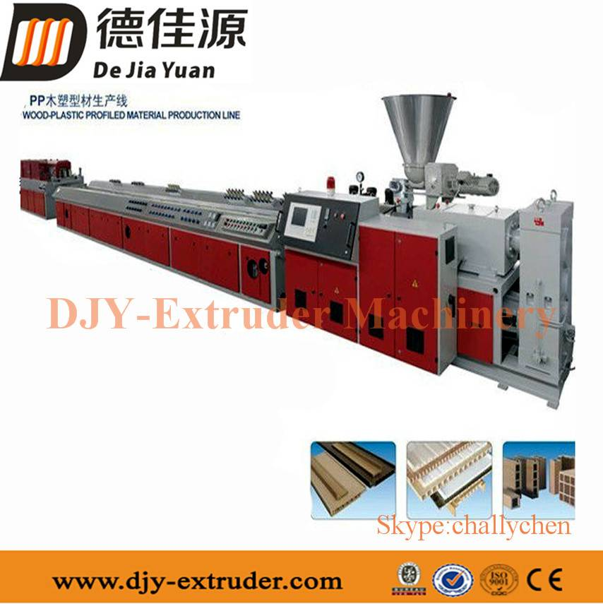 Wood Plastic Composite WPC/PVC Profile Production Line