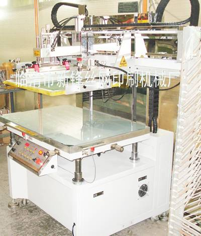 Semi-automatic screen printing machine/Vertical flat screen printing machine