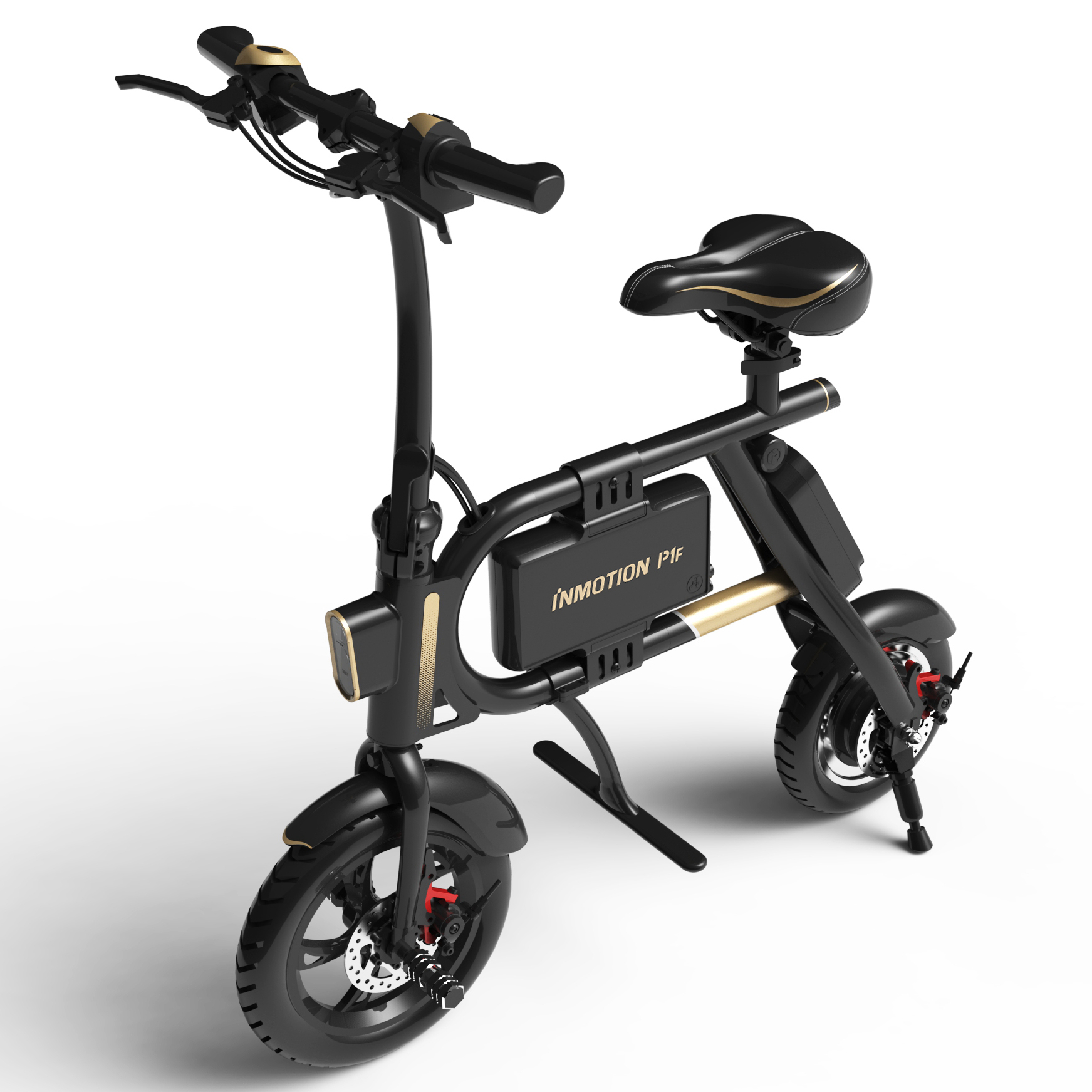 Mini Lightweight Foldable Electric Bike with Dual Disc Brakes