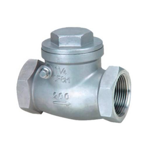 female threaded swing check valve