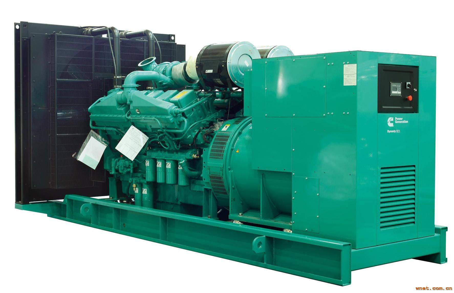 1000kw Soundproof canopy Cummins diesel generator for hospital