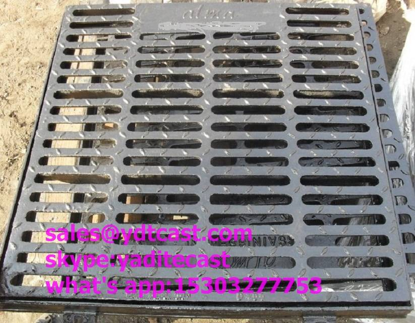 ductile iron gully grating/ cast iron grate