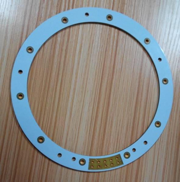 special technological process board plating half groove