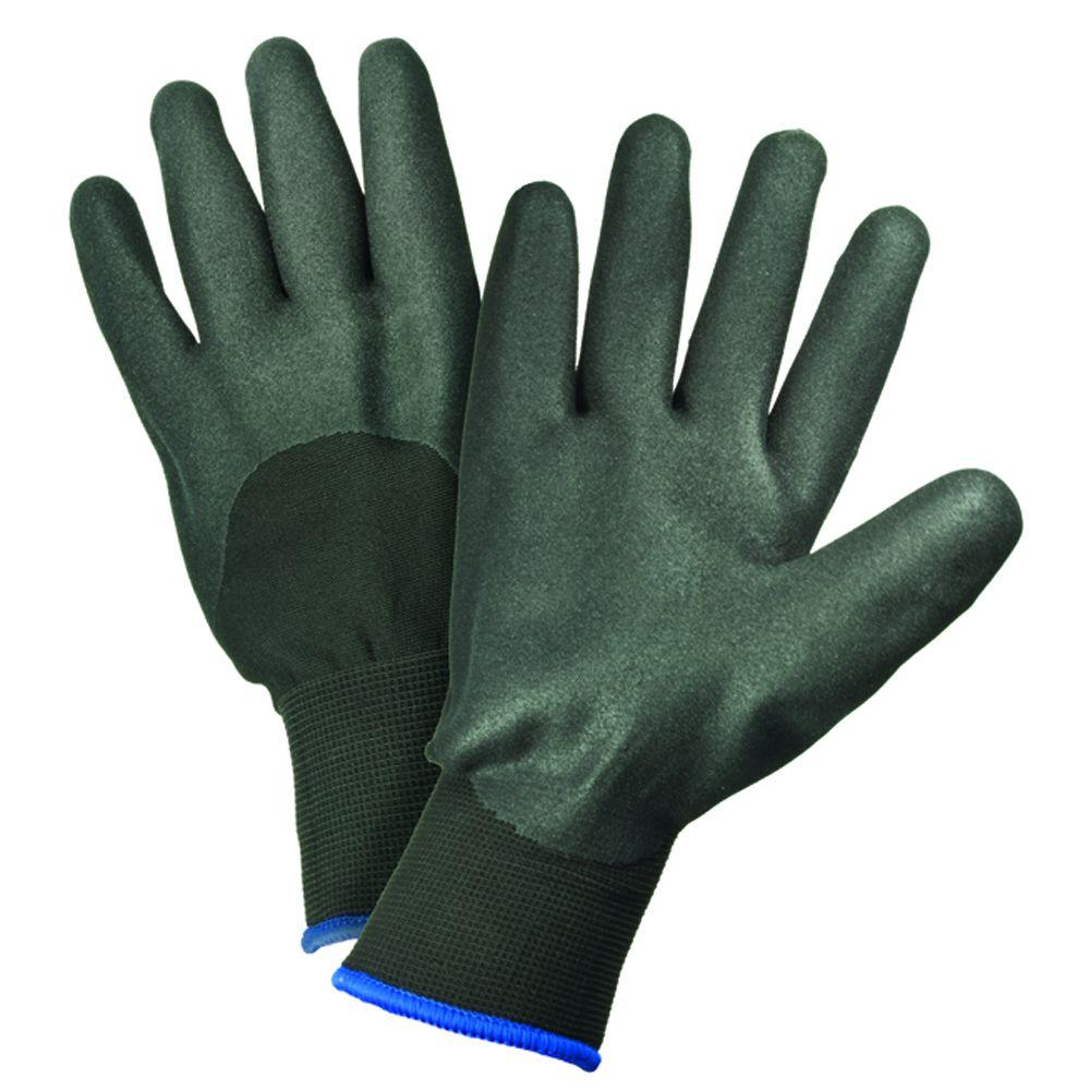 Polyester Nitrile Coated Work Gloves