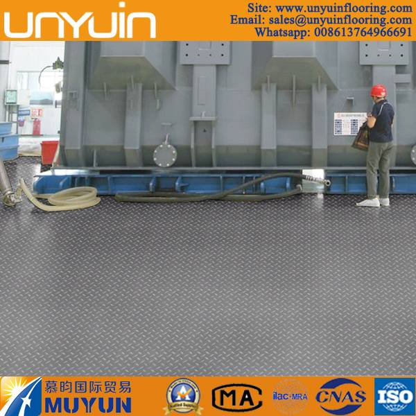 Excellent Impact Resistance Vinyl Flooring for Workshop