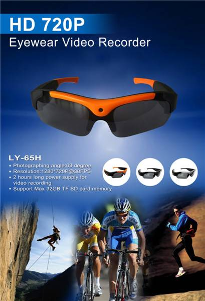 720P HD Outdoor Wearable Sports Camera LY-65H