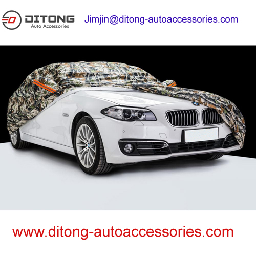 Camouflage 190T polyester automobile vehicle car covers
