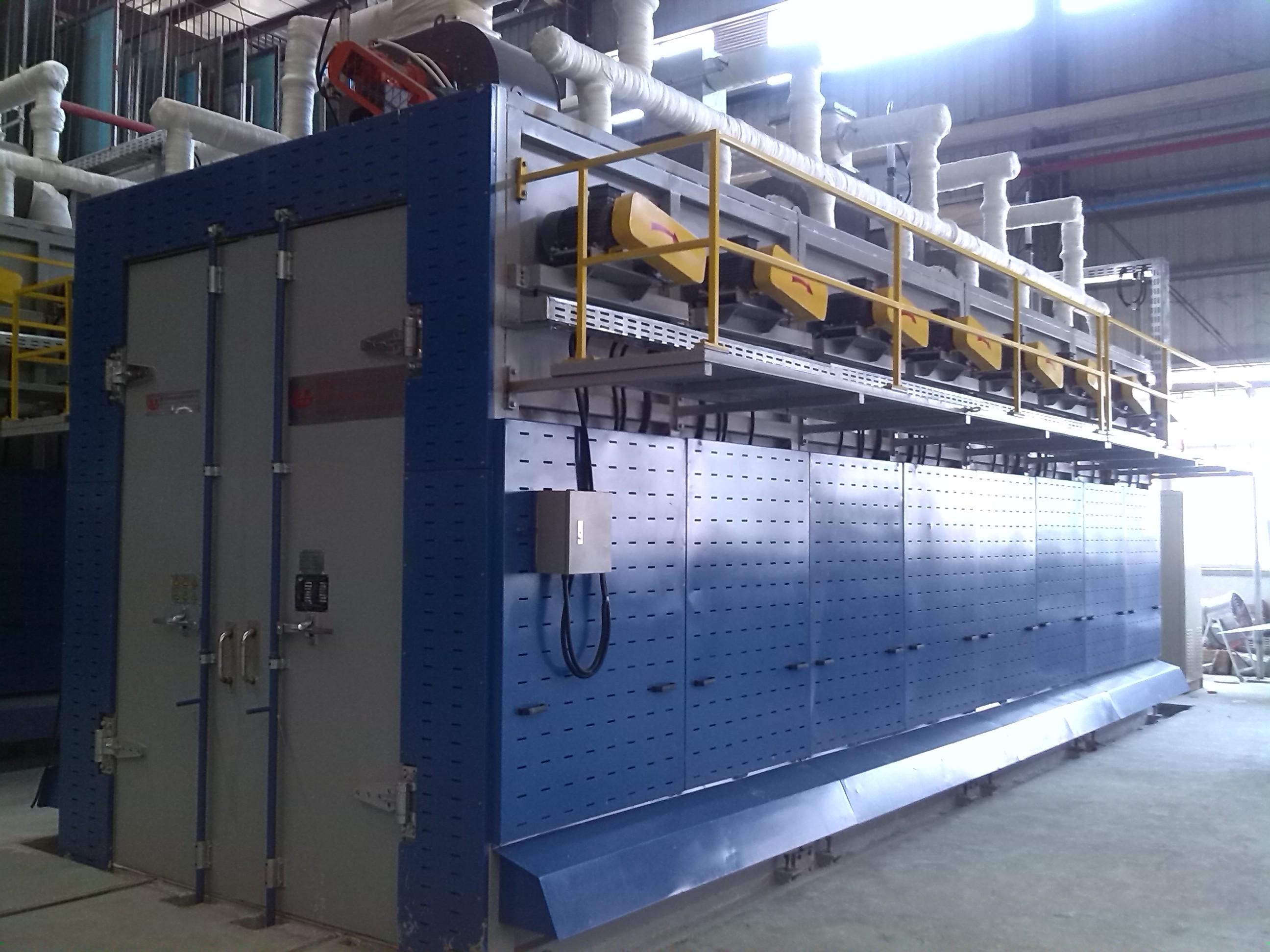 Glass Straight-line Edging Machine 10/11 Wheels