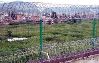 Fence used in prisons
