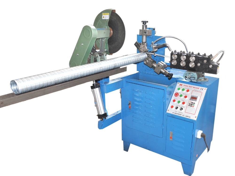 Automatic Spiral corrugated duct machine