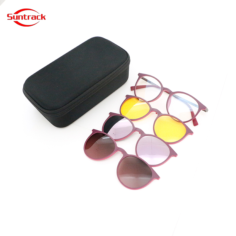 Fashion New Arrival In-Stock fast delivery eyewear clip on sunglasses for women