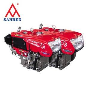Water-cooled diesel engine