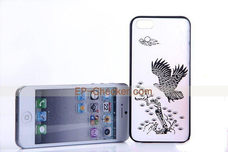 Wholesale - Promotion iPhone Case Fashion Slim Fashion 3D Colorful Pattern Plating Laser Engraving H