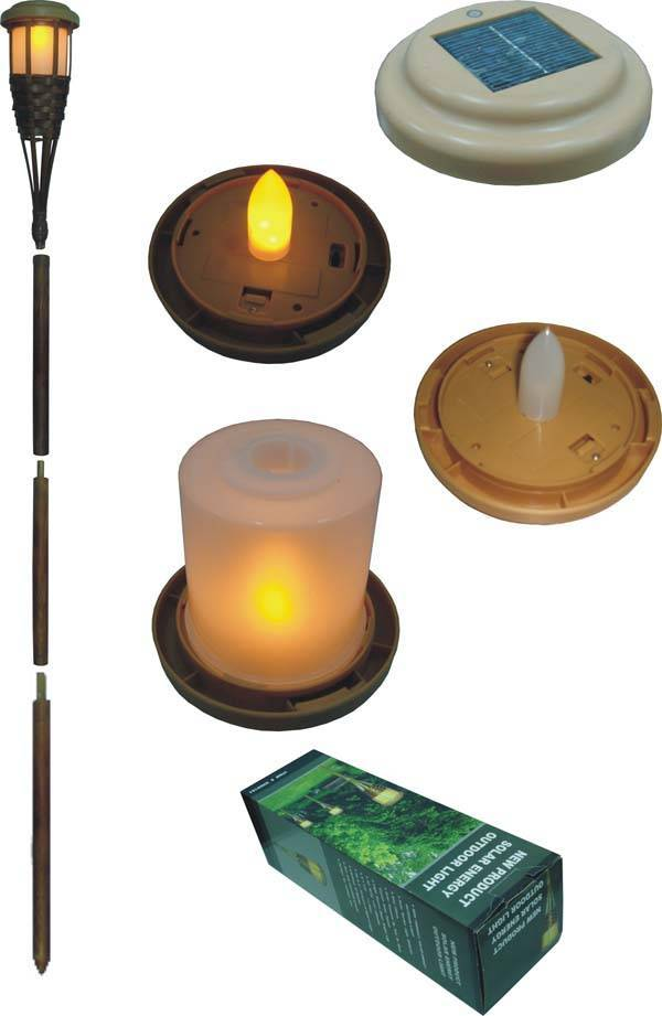solar  outdoor light  Solar Tiki Lamp