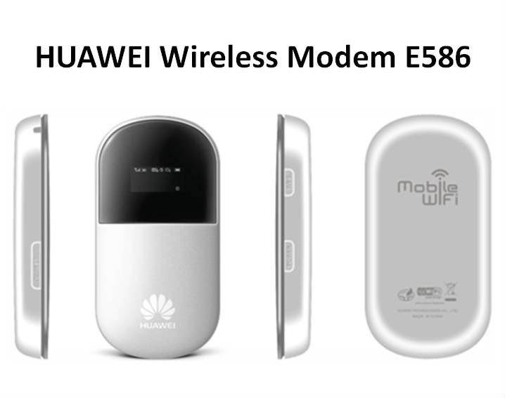 HUAWEI E586 Mobile Broadband Wireless WIFI Hotspot Modem Router