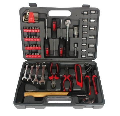 160PC Combination Tool Set, Hand Repair Tool Kit with Spanner