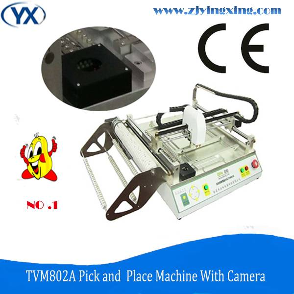 Great Stability Smd/led Soldering Machine TVM802A Surface Mount System Pick and Place Machine