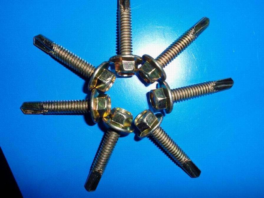 hex head self-drilling screw