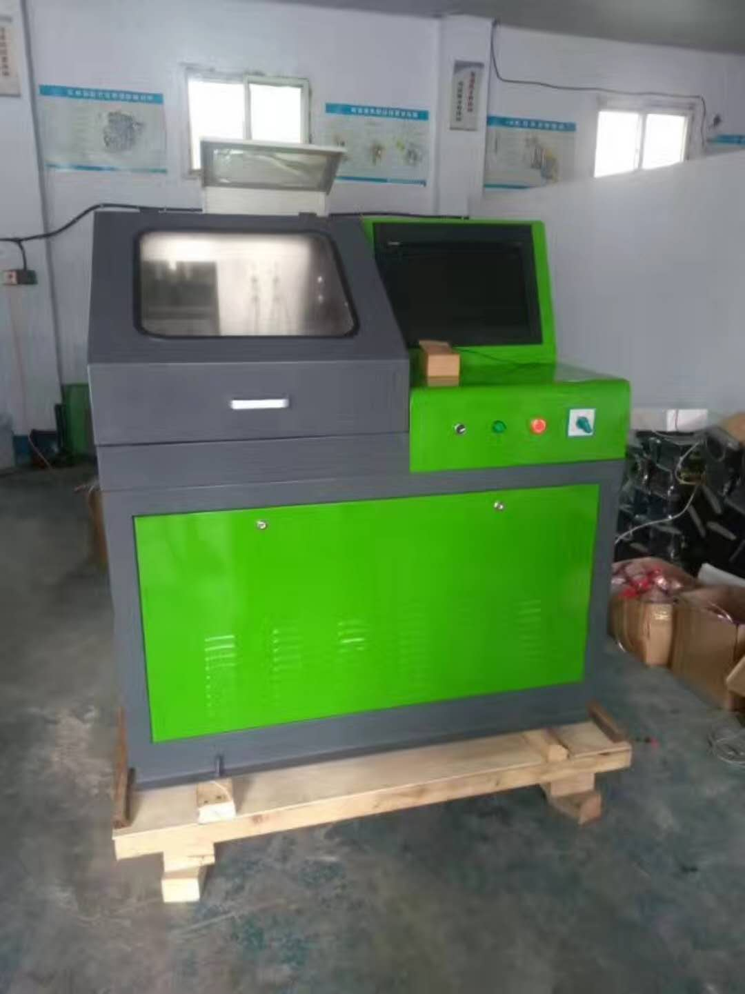 CRS 709 common rail test bench