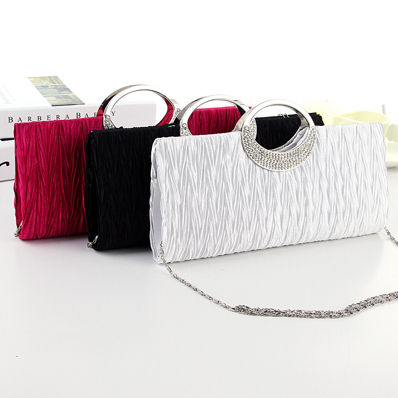 Upscale evening bag ladies handbag trend
