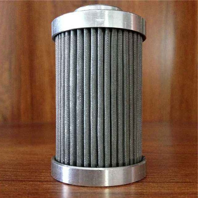 Stainless Steel Net Wire Mesh Sintered Filter Element Cartridge / Water Filter