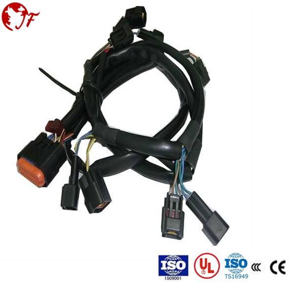 low price good quality auto tail light fog light wire harness manufacturer supply