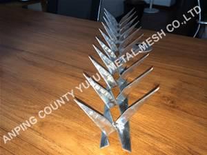 Galvanized Steel Wall Spike / Security Spike