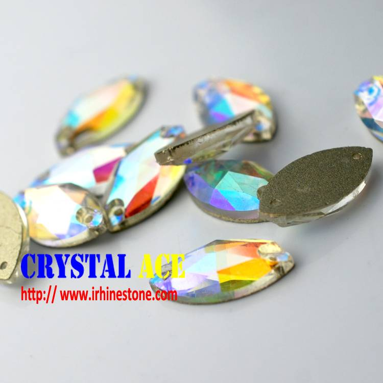 china crystal stones sew-on strass, rhinstones sew-on