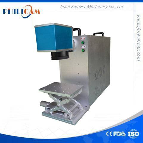 small size Philicam 20w fiber laser marking machine for personal use