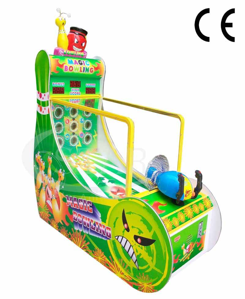 Magic Bowling--- Hot Sale Game Machine/ Shooting Indoor Arcade Machine