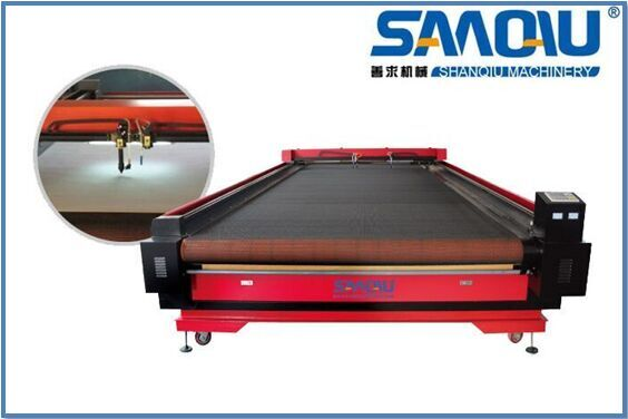 fabric cloth gament auto feeding laser cutting machine