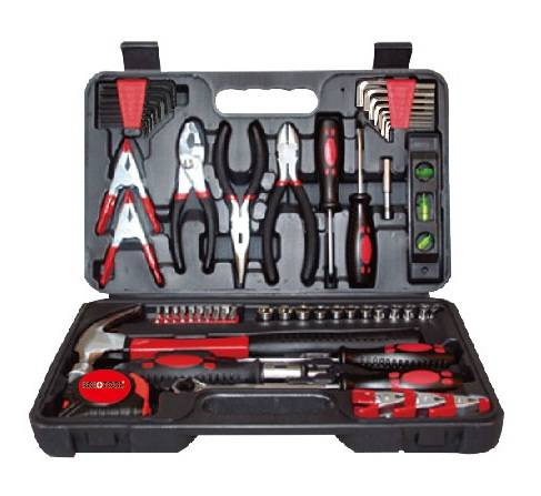 72PC Portable Tool Kit, Combination Tool Set, Hand Repair Tool Set