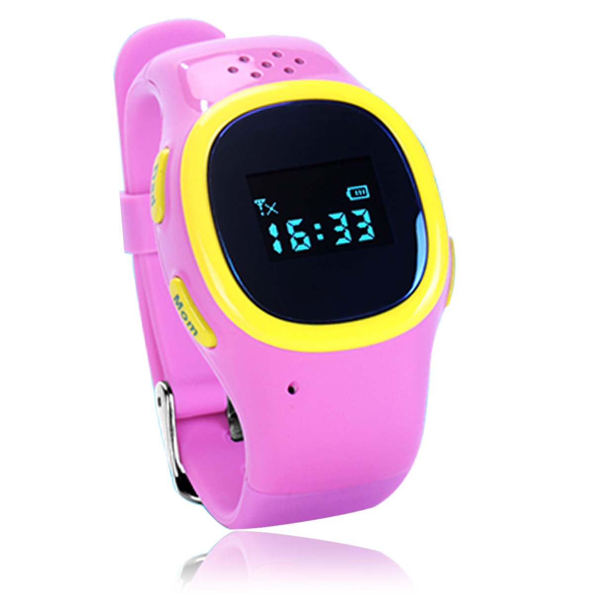low price General mini lovely design oled screen kids gps watch