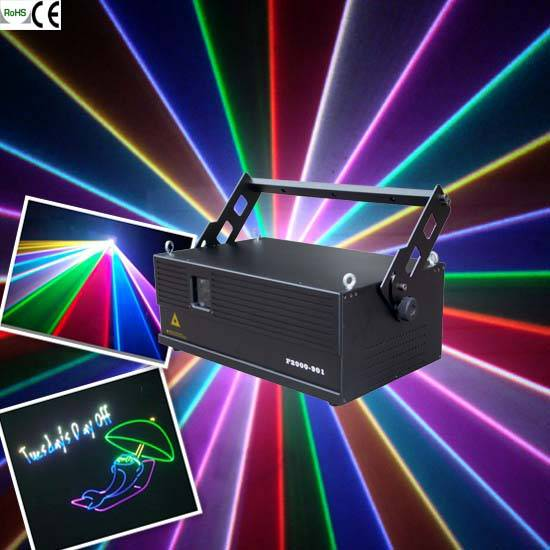 5W RGB Animation laser light for stage and nightclub