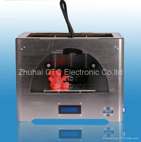 Metal CTC Tuhao 3D printer with 2 head (dual-extruder)