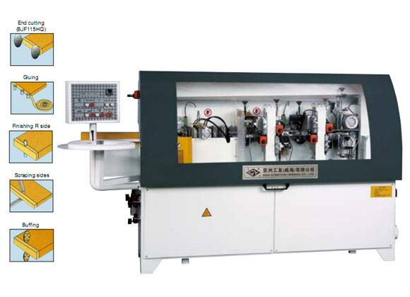 BJF115H Semi-automatic Edge Banding Machine
