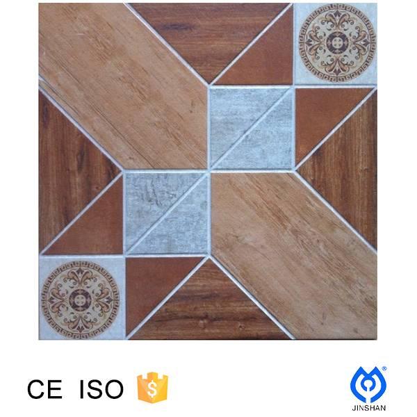 400*400*9mm Ink jet 3D print ,porcelain wood floor tile