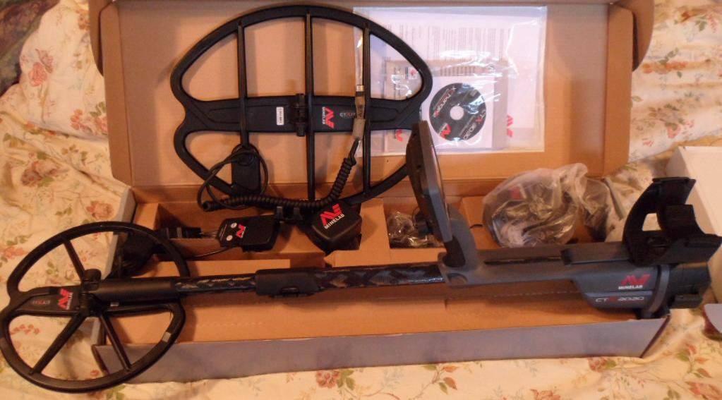 Minelab CTX 3030 FREE Bonus 17 DD Waterproof Search Coil Model CTX17