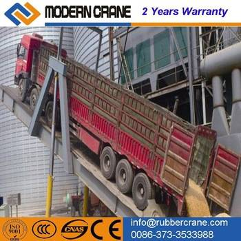 10tons CE-approved Forklift Mobile ramp Hydraulic for loading and unloading container mobile truck r
